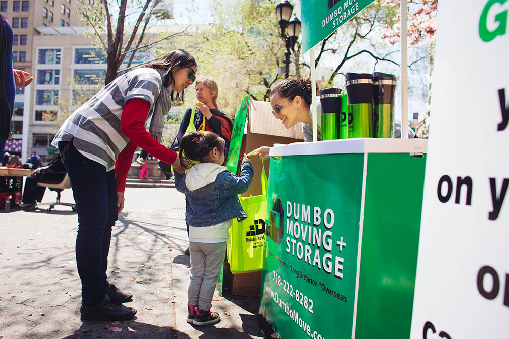 Earth Day 2015 At Union Square Dumbo Moving And Storage Nyc
