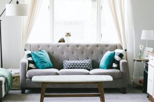 A Couch In The Living Room
