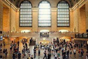 The Grand Central Terminal as one of the places to visit after relocating to New York