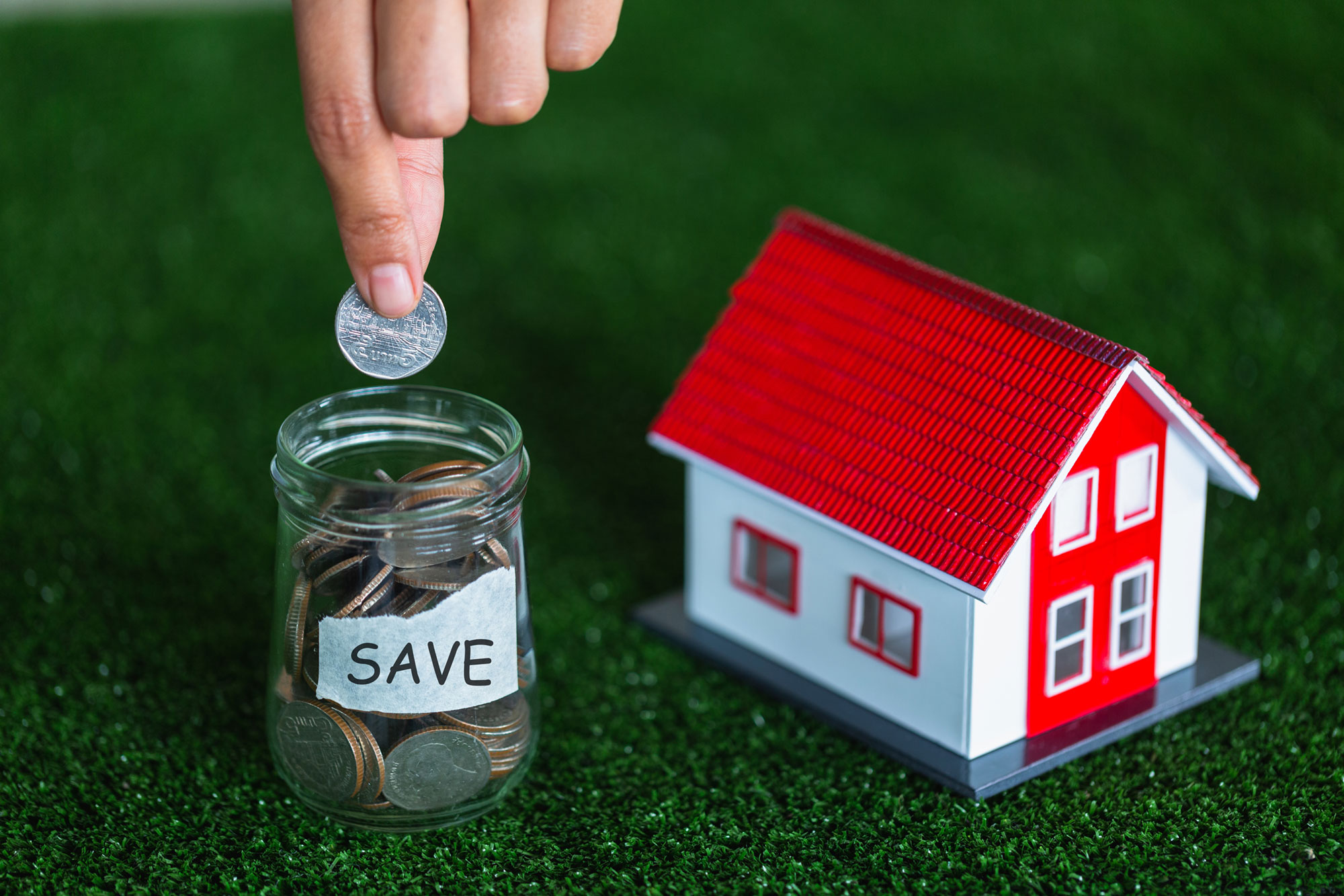 Real Estate Savings Concept