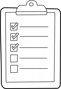 a blank moving checklist is your best tool against common sources of moving stress.