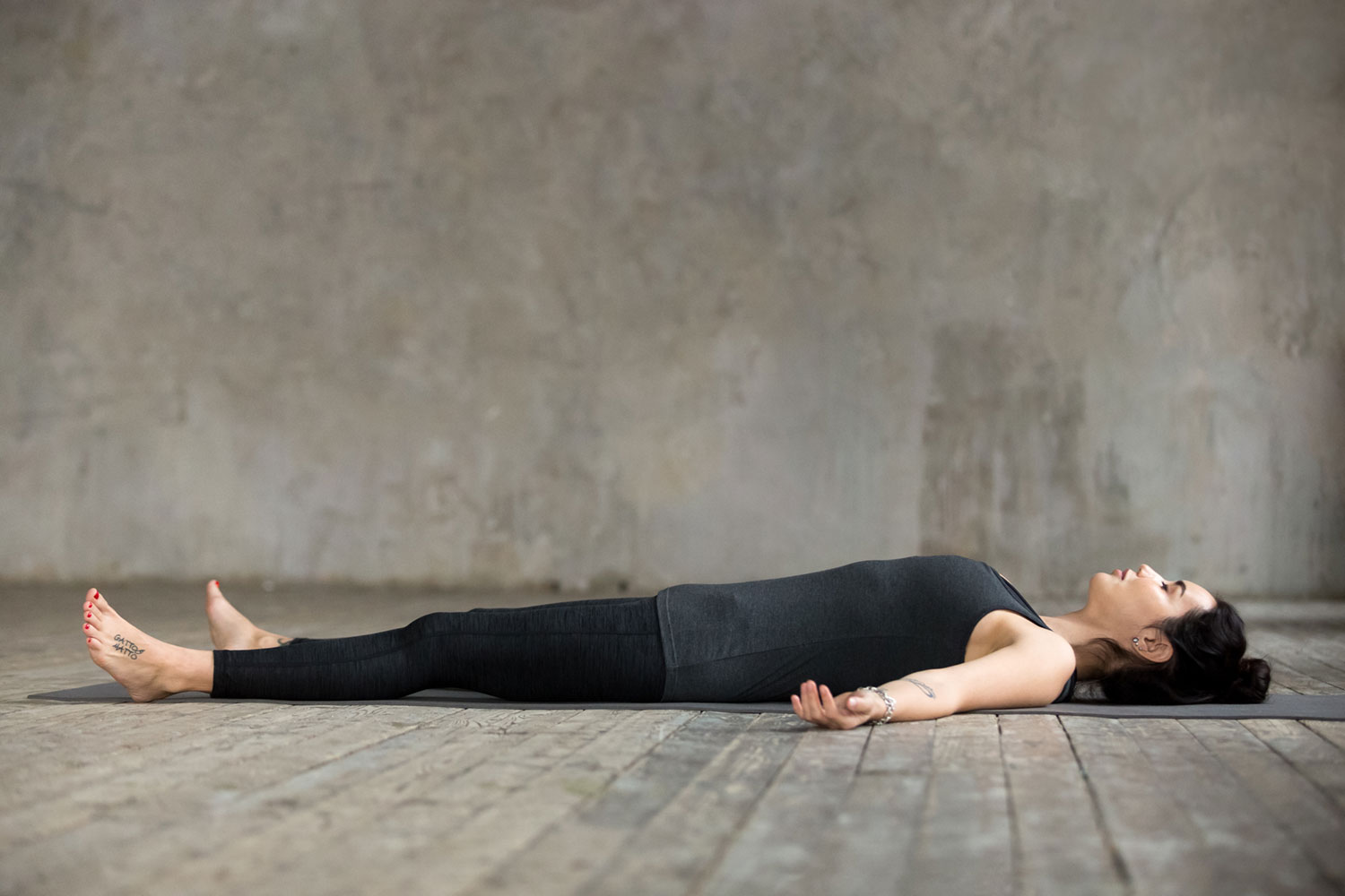 Corpse Yoga Pose