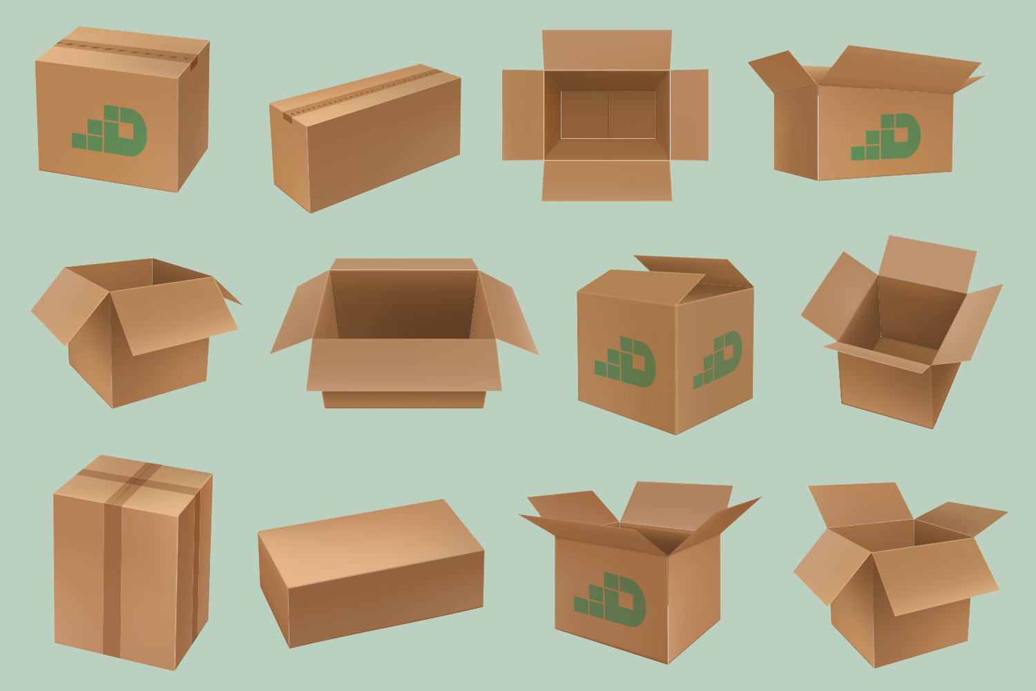 Different Moving Boxes
