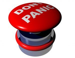 Red ''don't panick button'' is not something that you should turn to when moving abroad