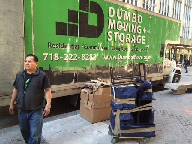 Dumbo moving and storage truck