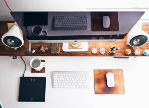 Have all equipment when setting up an office in your home
