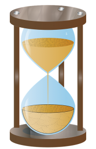 an animated hourglass