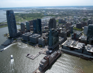 The view of Jersey City
