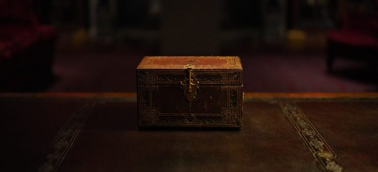 most expensive household items to move- a chest