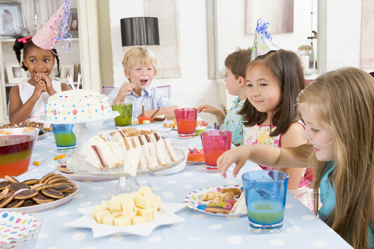 Young Children At Party