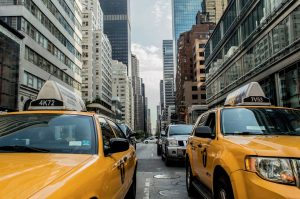 yellow cabs in a traffic jam on the NYC streets will become your routine after your move to New York