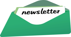 green newsletter sent via email