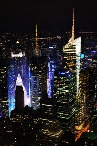 NYC at night. Reason why everyone in their twenties should move to the Big Apple