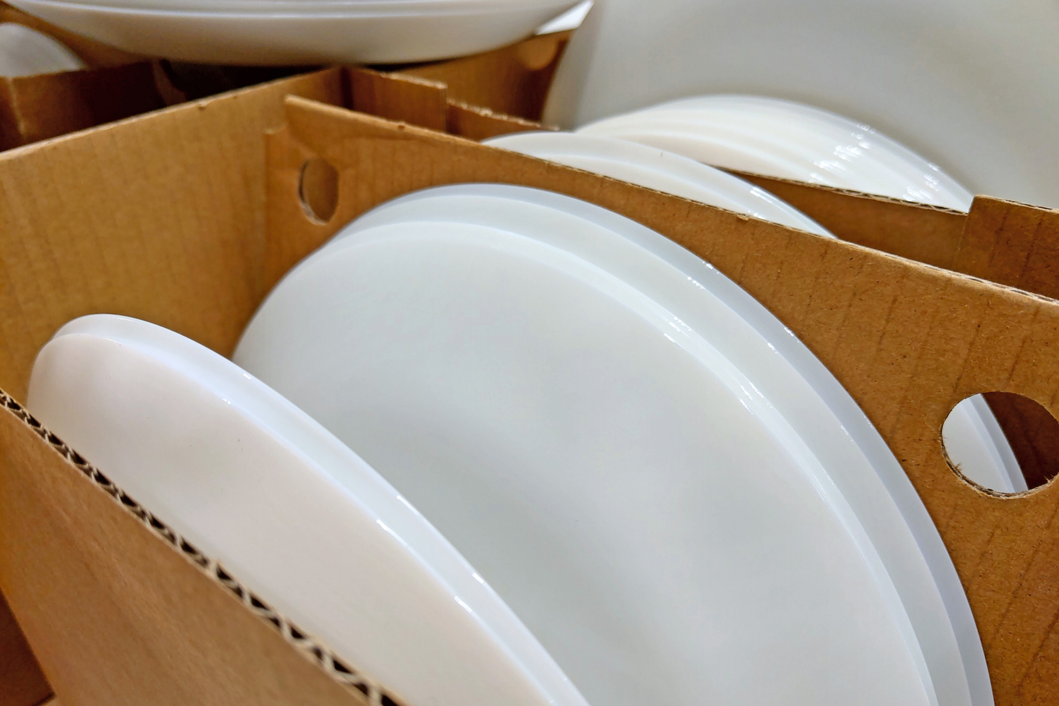 Dishes in the Moving Box