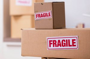 "Labeled Boxes - ""Fragile"""