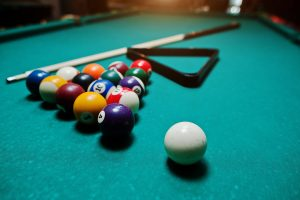 Pool Table at Home