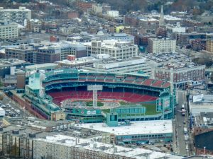 Fenway park - home to Boston Red Sox