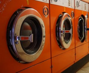 red washing machines