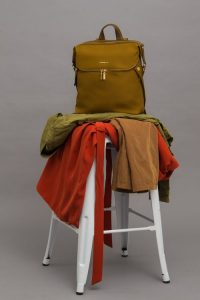 clothes on the stool