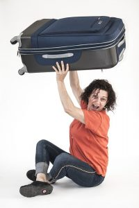 Make use of suitcases for packing clothes for a move