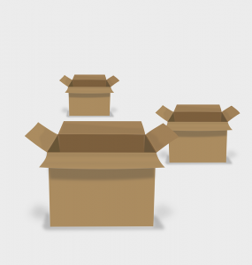 Cardboard moving boxes are able to withstand different types of items